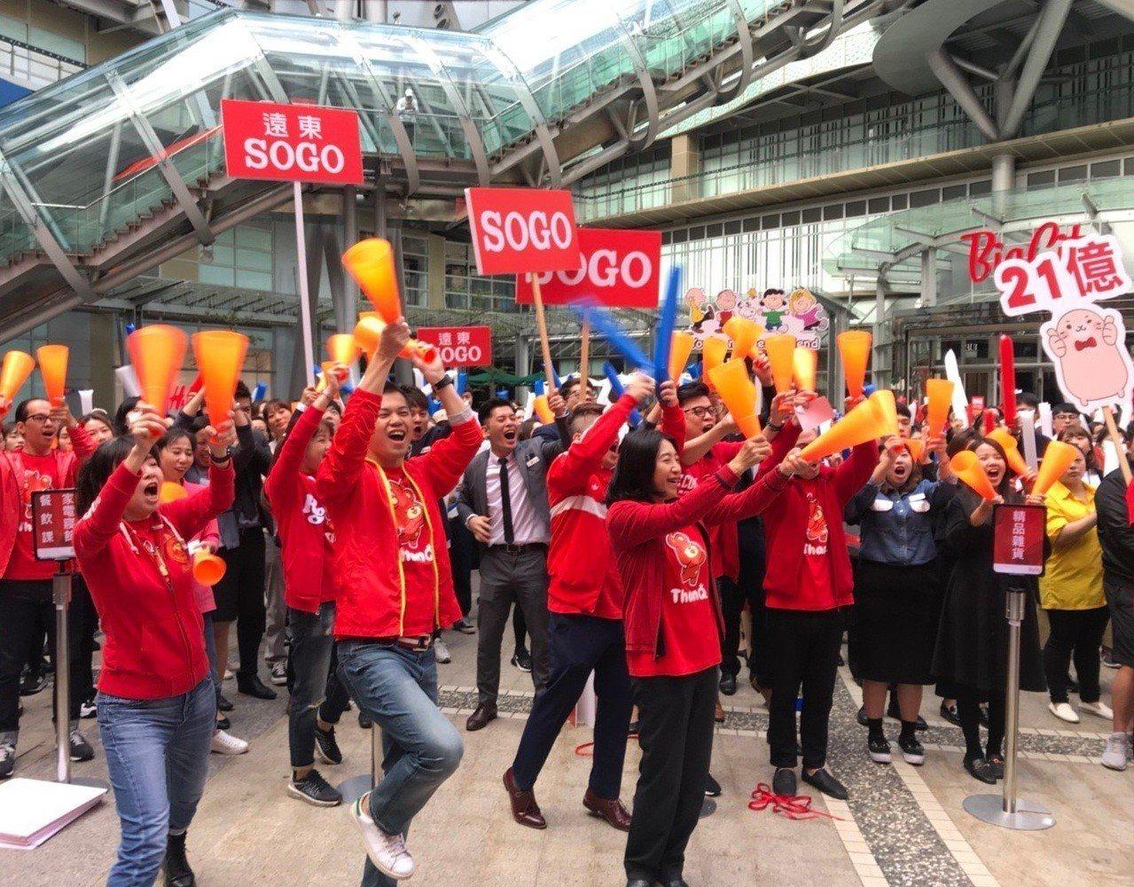 遠東SOGO百貨新竹Big City館 周年慶,29日強勢開跑,將抽出7台電動機...