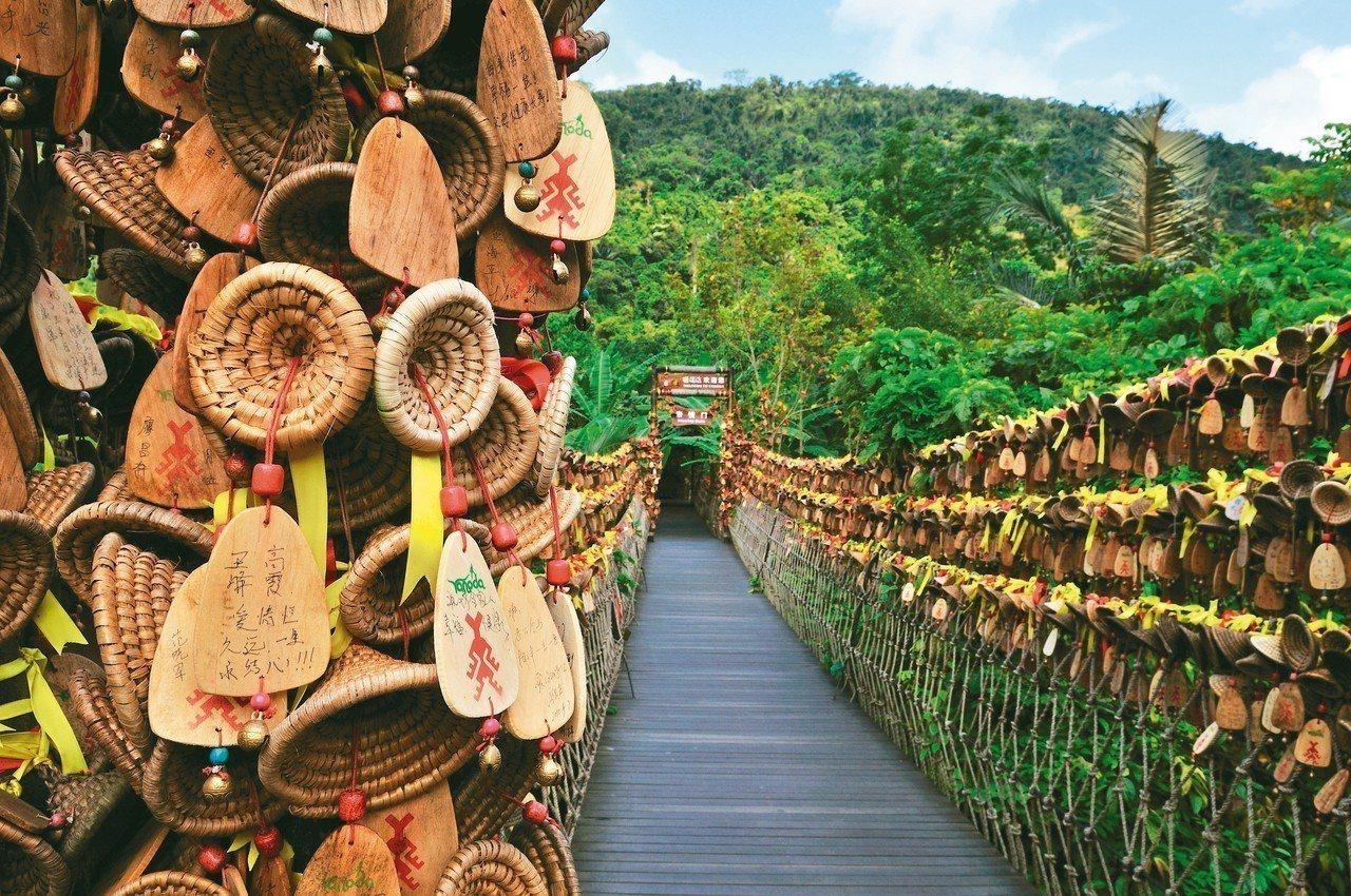 呀諾達熱帶雨林文化旅遊區的幸福天道 記者胡明揚/攝影