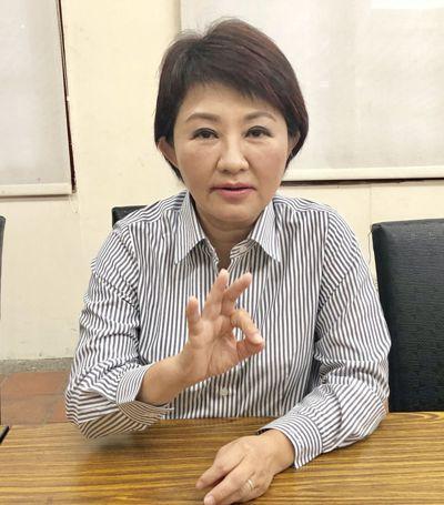 台中市長當選人盧秀燕,針對招商引資提出三要件。 記者宋健生/攝影