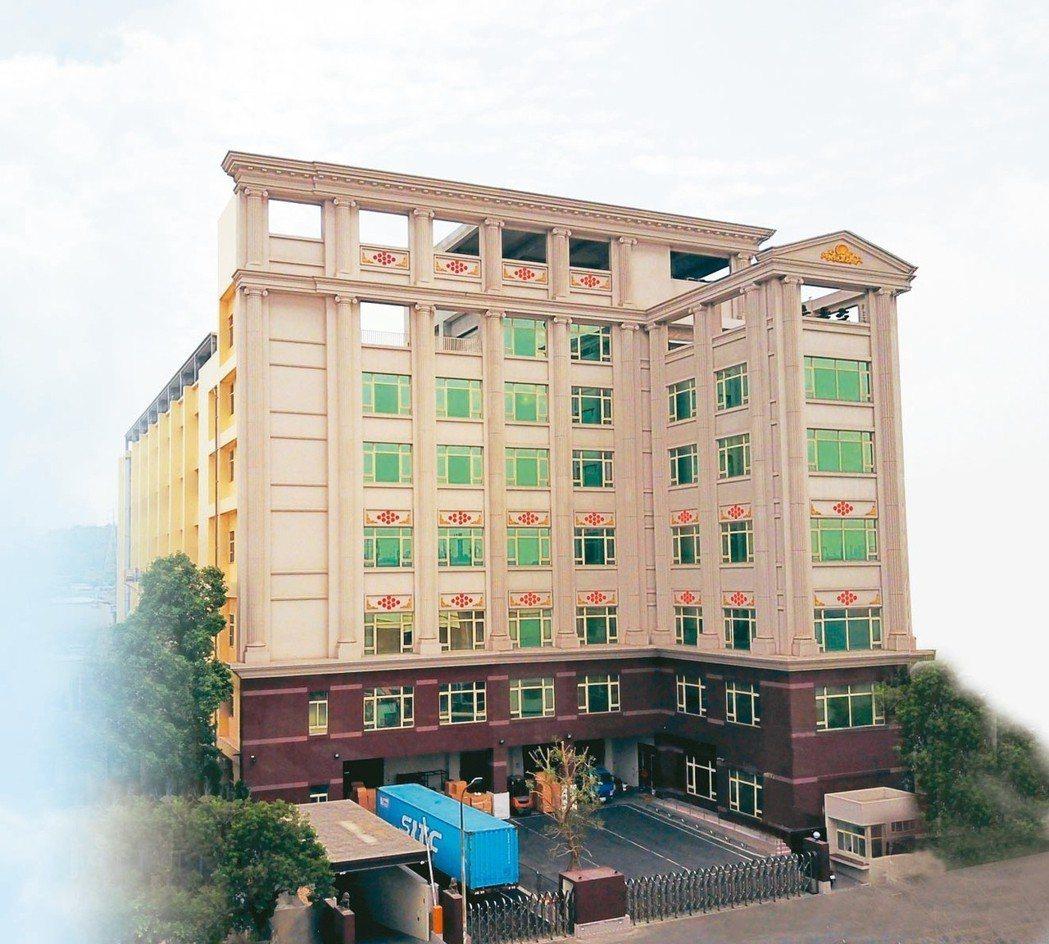 九如新廠-廠區約5,000坪,地下1層、地上6樓與頂樓7樓並設置264KW太陽能...