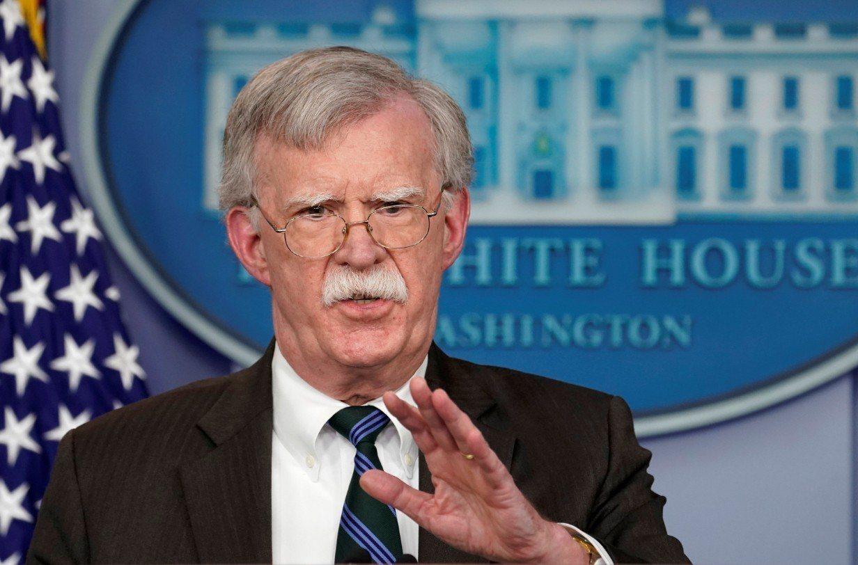 美國白宮國家安全顧問波頓。 路透社