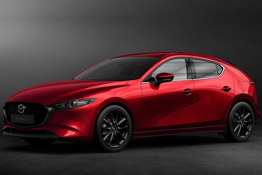 全新第四代Mazda3預計在明年初起開始販售,台灣市場最快則在明年第二季導入販售。 圖/Mazda提供