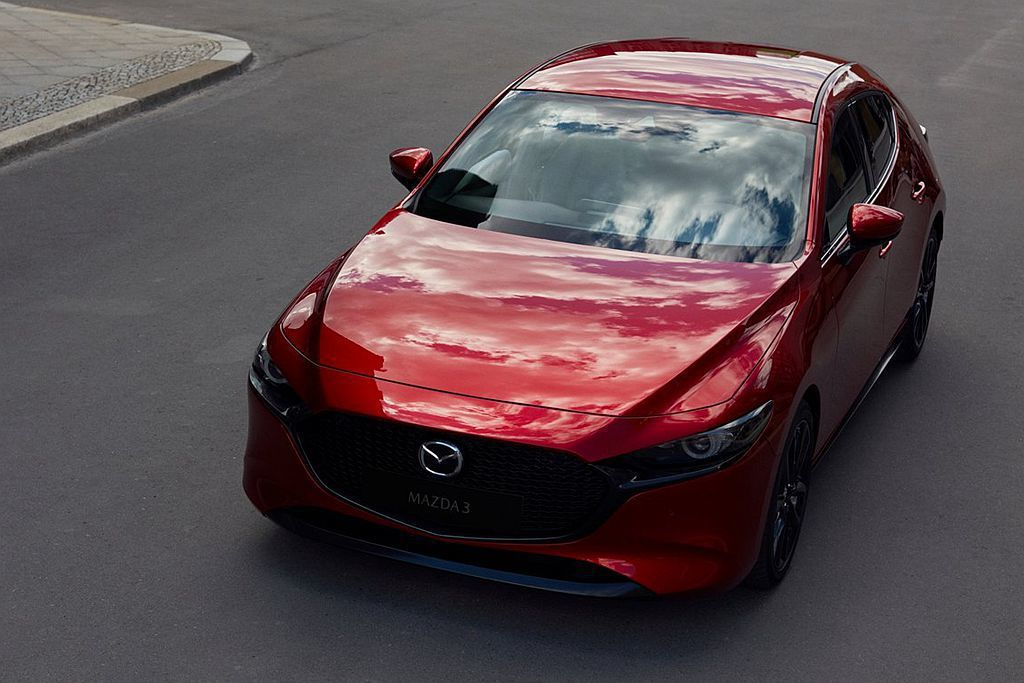 廠照現在網路上曝光後,隨著發表會順利結束全新第四代Mazda3也公布完全規格數據。 圖/Mazda提供