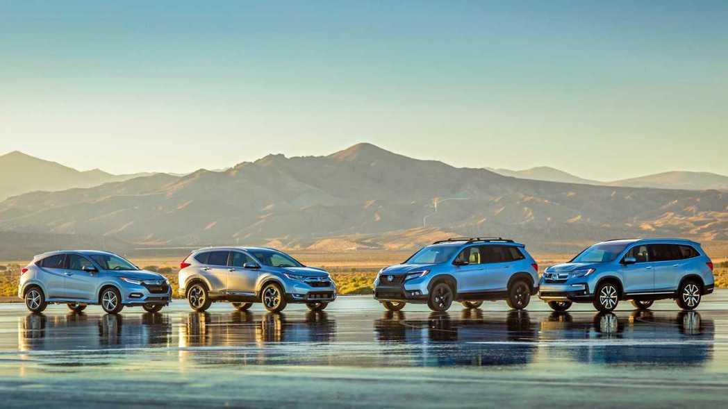 新世代Honda Passport正式在洛杉磯車展發表,如此一來北美Honda SUV陣容將達到了四款車(Passport、HR-V、CR-V與Pilot)。 摘自Honda