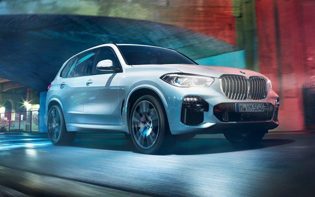 即將於台灣正式亮相的全新世代BMW X5是科技薈萃的大成之作。 BMW提供