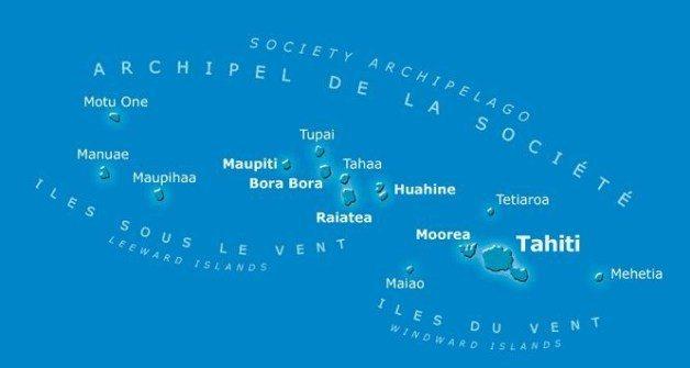 Society Islands(社會群島)(Photo Credit: AirT...