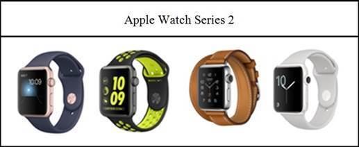 圖4:2016年Apple Watch Series 2系列產品
