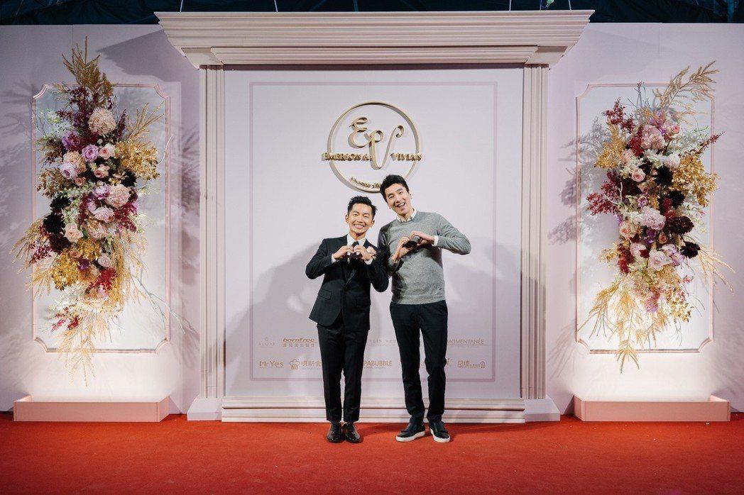 蔡昌憲(左)、趙又廷。圖/群星瑞智提供