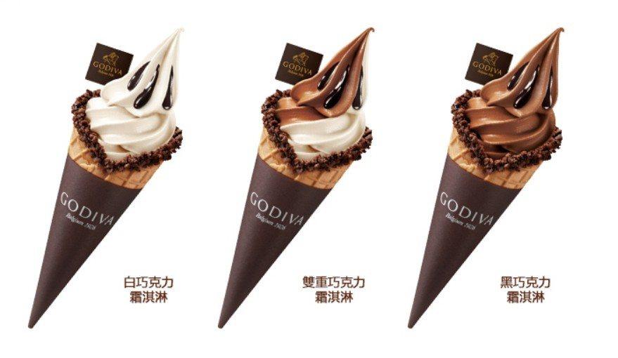 三款口味12/1、12/2周末兩日限時買一送一。圖/擷取自GODIVA官網