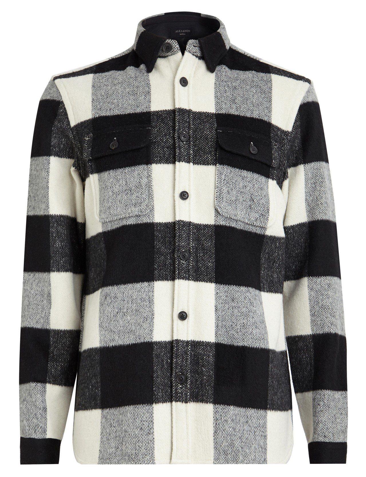 AllSaints Laona格紋襯衫,6,600元。圖/AllSaints提供