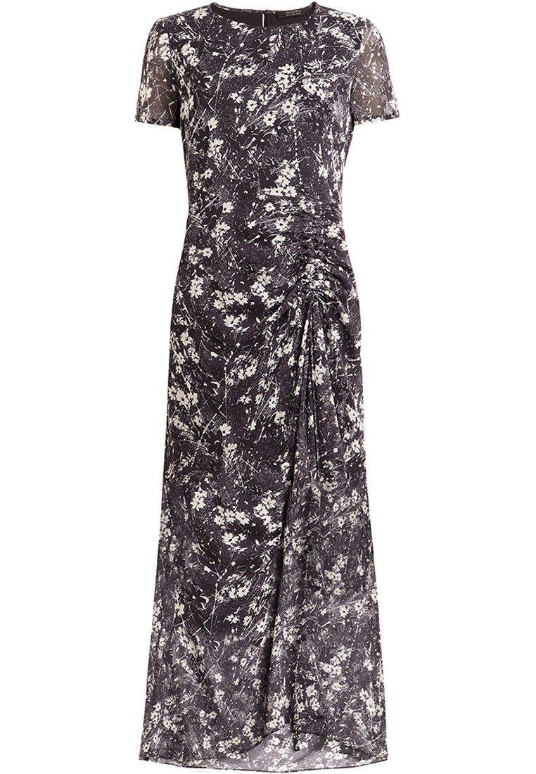 AllSaints Liza印花洋裝,9,700元。圖/AllSaints提供