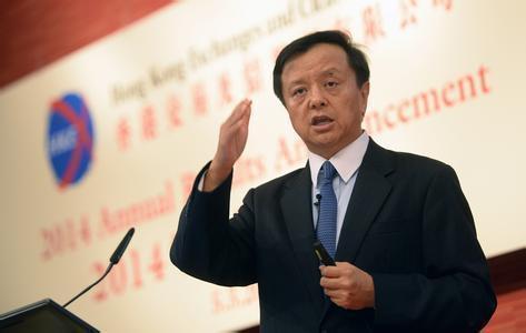 香港交易所集團行政總裁李小加。照片/百度圖庫