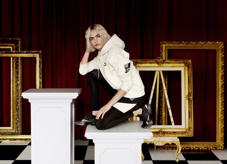 Puma代言人卡拉迪芬妮演繹冬季全新Muse Maia Luxe女神鞋,既美又...