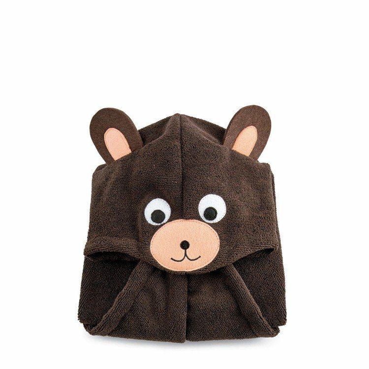 THE BODY SHOP動物快乾髮巾(熊),售價680元。圖/THE BODY...