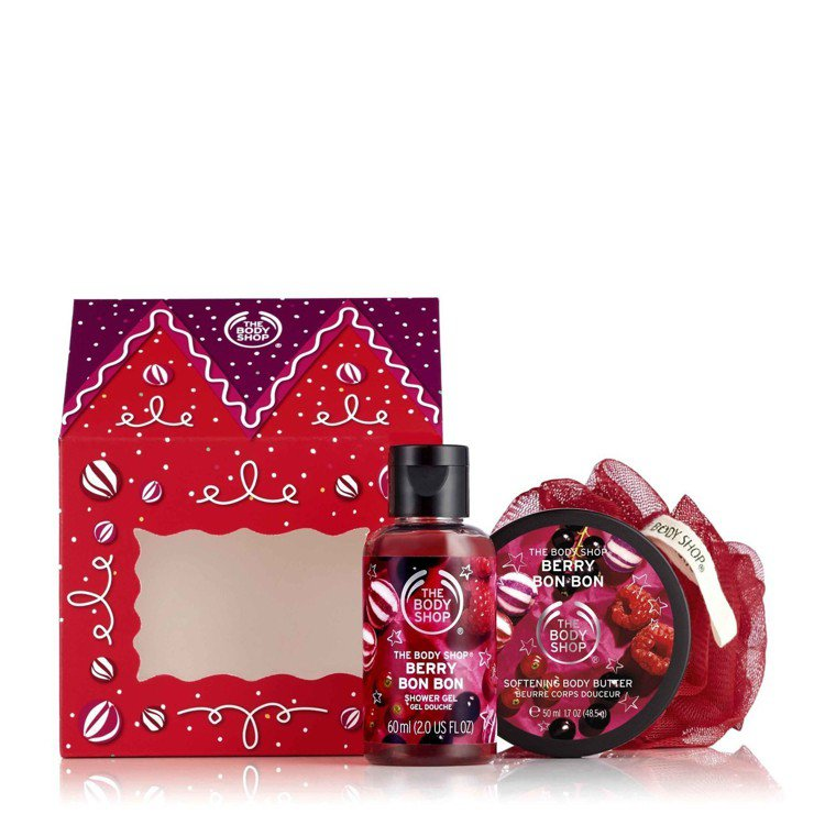 THE BODY SHOP莓果糖果屋禮盒,售價580元。圖/THE BODY S...