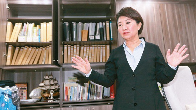 台中市長當選人盧秀燕。 記者胡經周/攝影