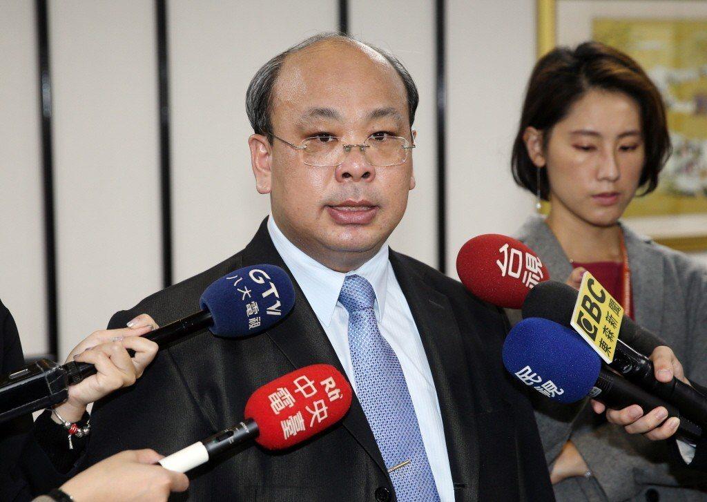中選會副主委陳朝建。聯合報系資料照