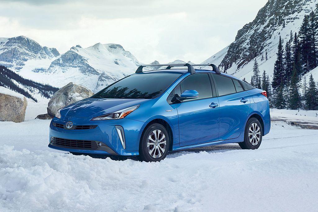 小改款Toyota Prius在美國市場首度提供四驅車型可選。 圖/Toyota...