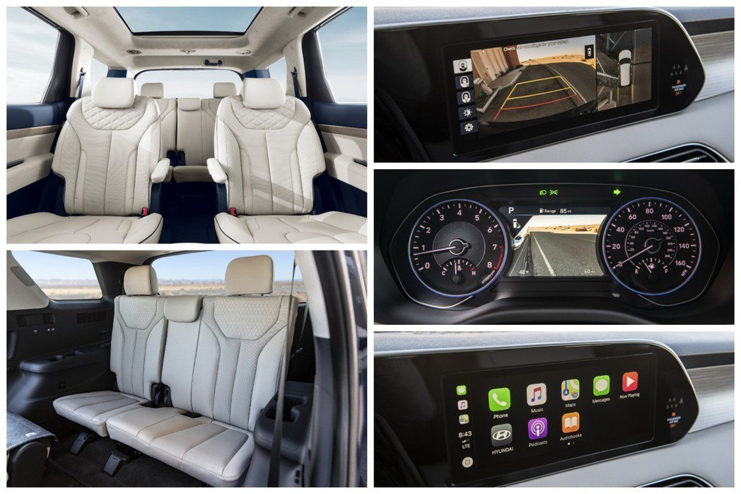 Hyundai Palisade標配Apple CarPlay與Android ...