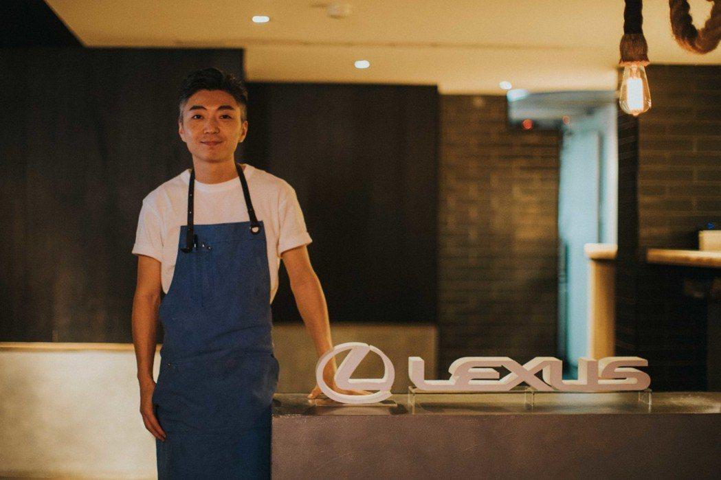 日前舉辦的LEXUS Dining Out活動,特別邀請北歐時尚摩登創意餐廳MU...
