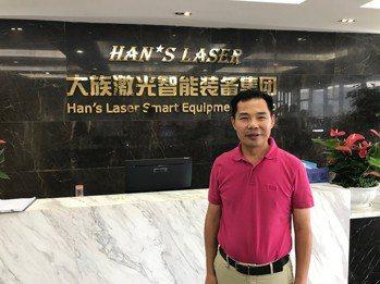 大族激光智能裝備集團總經理陳焱表示,臺灣將成為集團在東南亞、東北亞市場發展的重要...