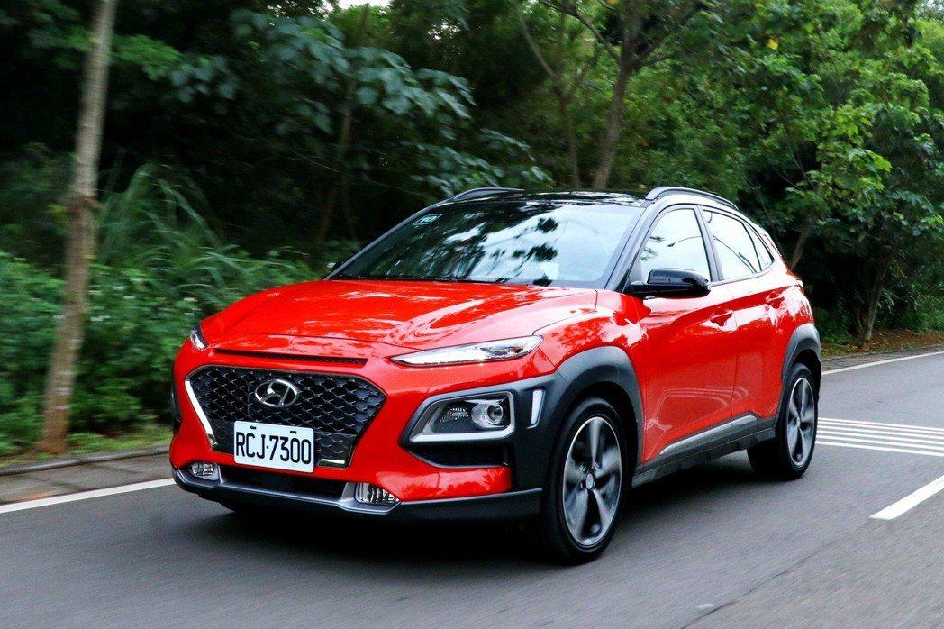 Hyundai Kona的加速表現在同級車款名列前茅。 記者陳威任/攝影