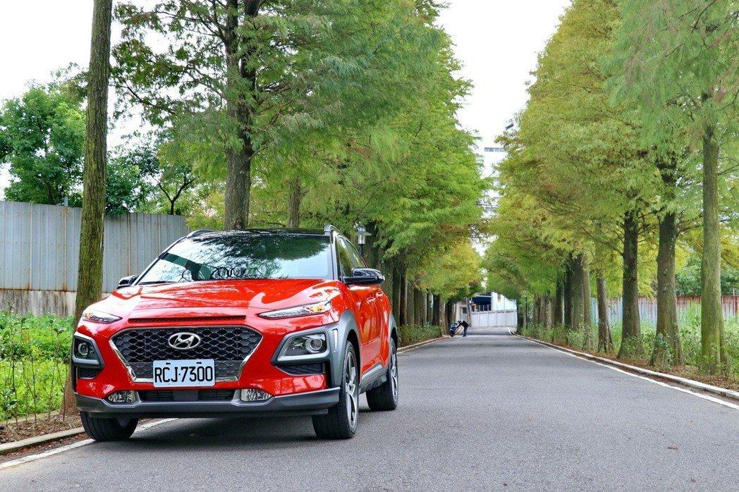 Hyundai Kona今年配額僅150輛。 記者陳威任/攝影