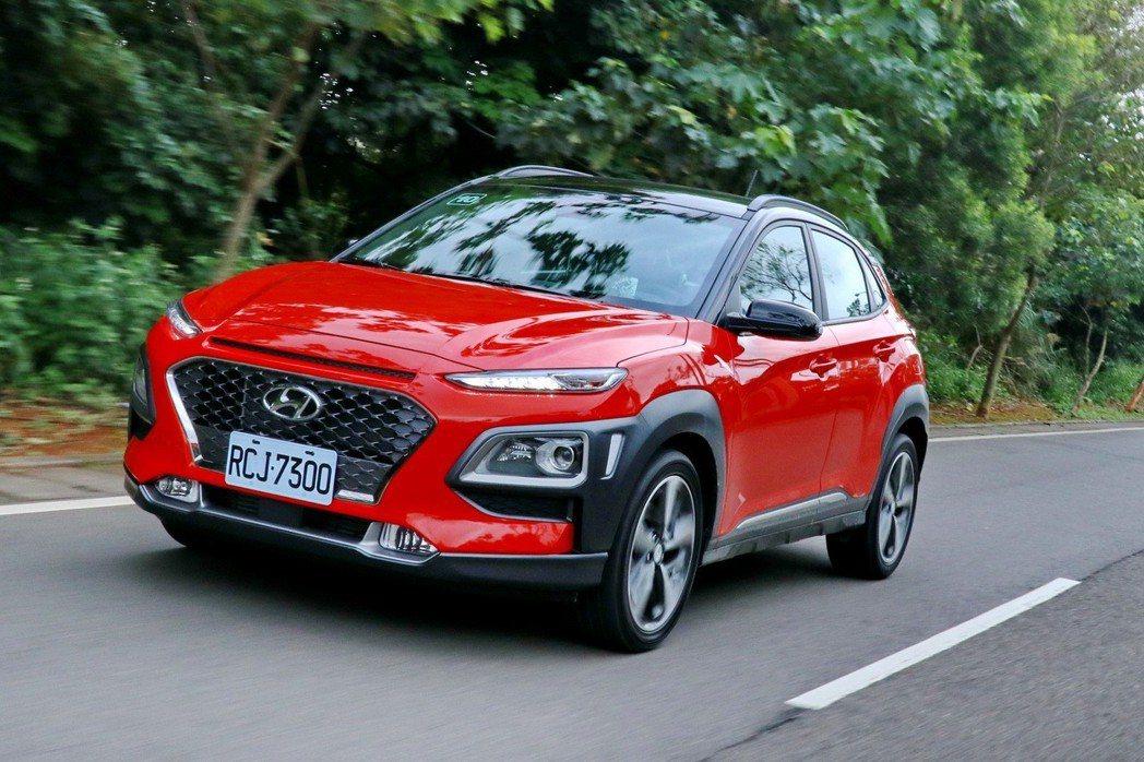 Hyundai Kona的動態表現堪稱是同級前段班。 記者陳威任/攝影