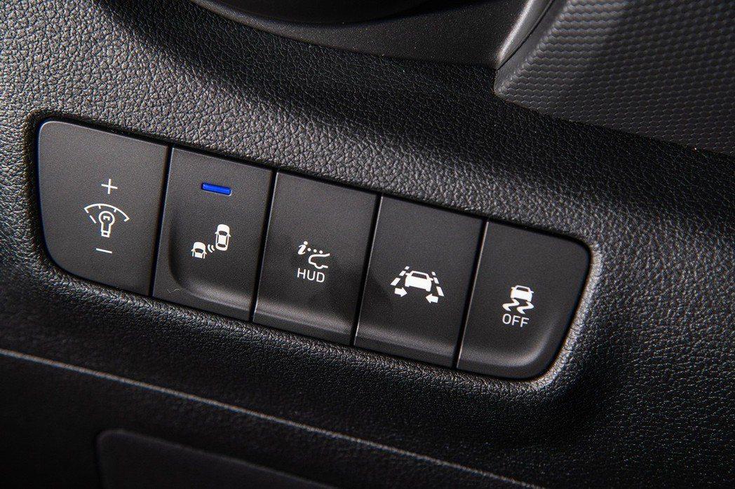 Hyundai Kona的配備相當豐富多元。 圖/南陽實業提供