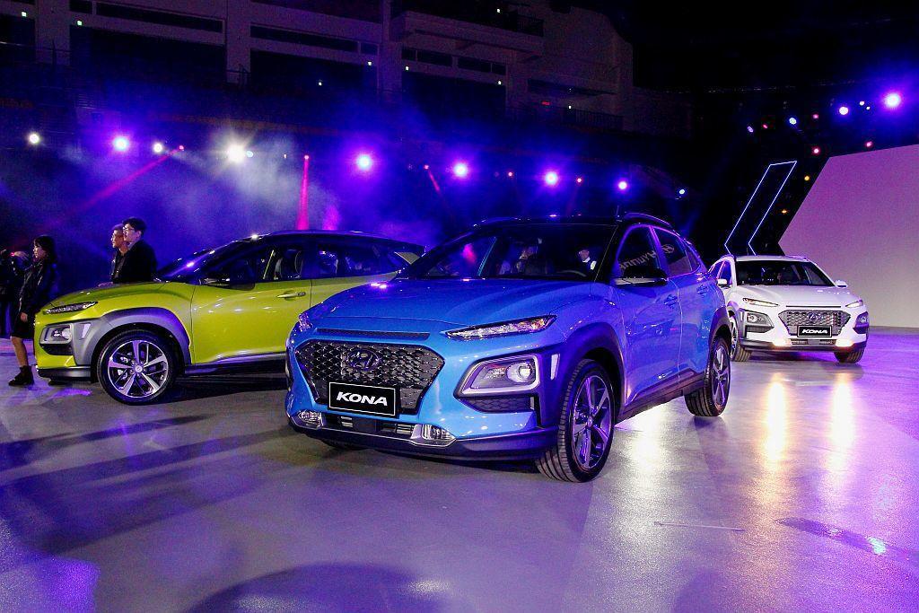 Hyundai Kona以51.8%比例的AHSS先進高剛性鋼材打造的車體,重量...