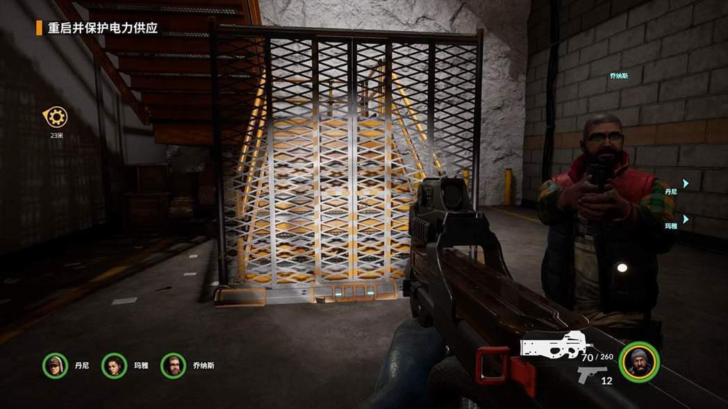 ▲機動護欄能夠設置在任何重要通道或樓梯口阻擋敵人