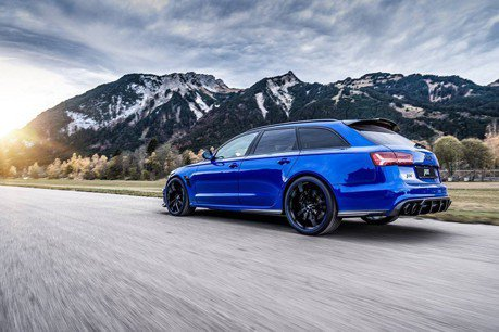 影/七百匹馬力Audi RS6+ Nogaro Edition!ABT加持性能跑旅