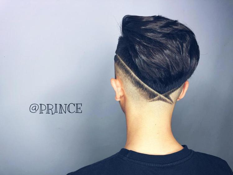 髮型創作/Prince Liao。圖/StyleMap提供