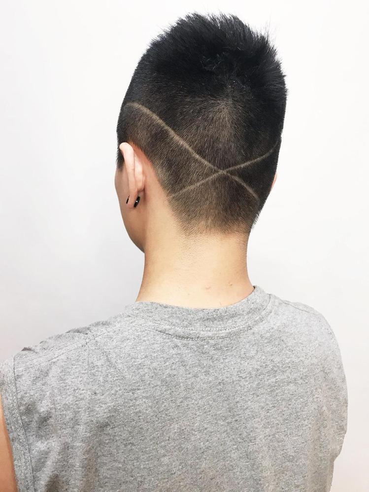 髮型創作/Anna 妍甄。圖/StyleMap提供