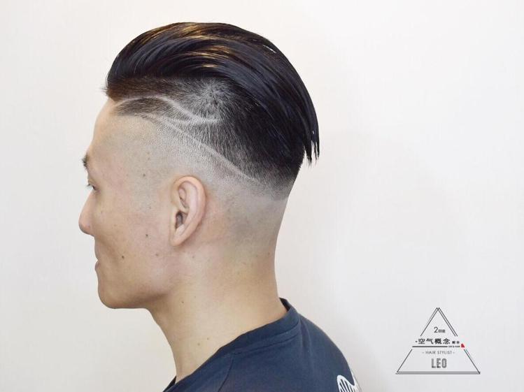 髮型創作/LEO。圖/StyleMap提供