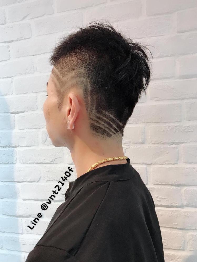 髮型創作/諾亞GIgi 呂姿瑩。圖/HairMap美髮地圖提供