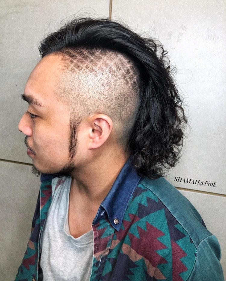 髮型創作/Chen Pink 。圖/StyleMap提供