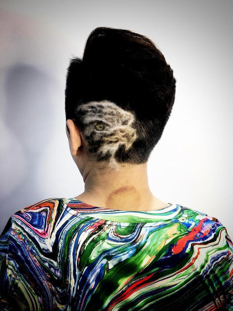 髮型創作/泰勒Tyler。圖/StyleMap提供
