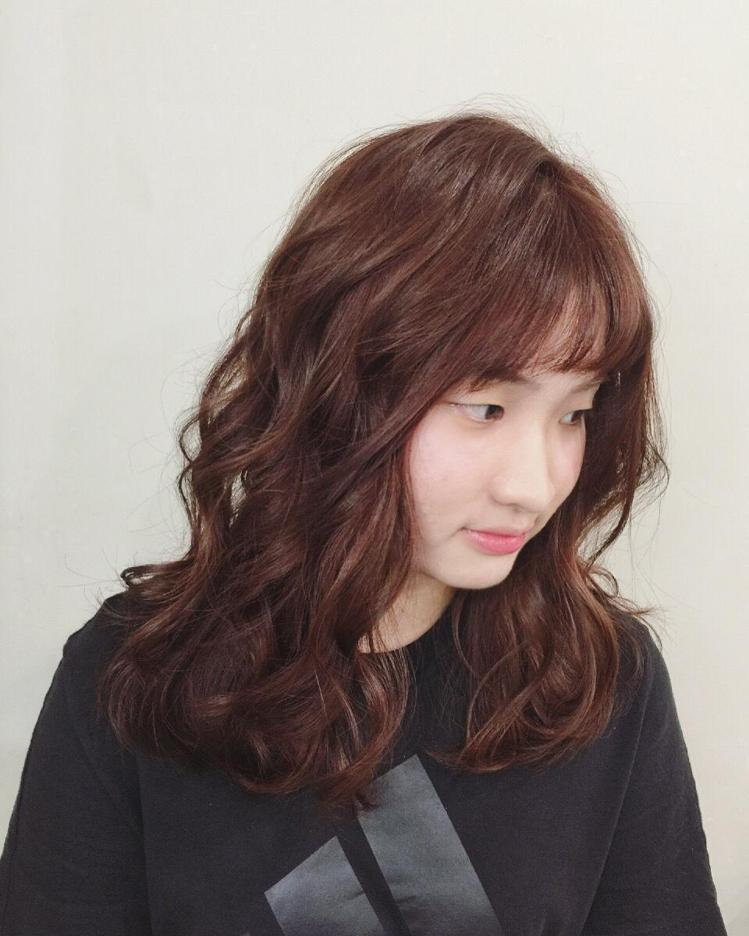 髮型創作/Glitz新竹店。圖/StyleMap提供