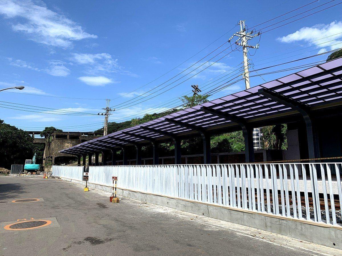 瑞芳濱海地區深澳到八斗子的鐵道自行車計畫即將完工,地方盼促進觀光人潮,成觀光熱區...