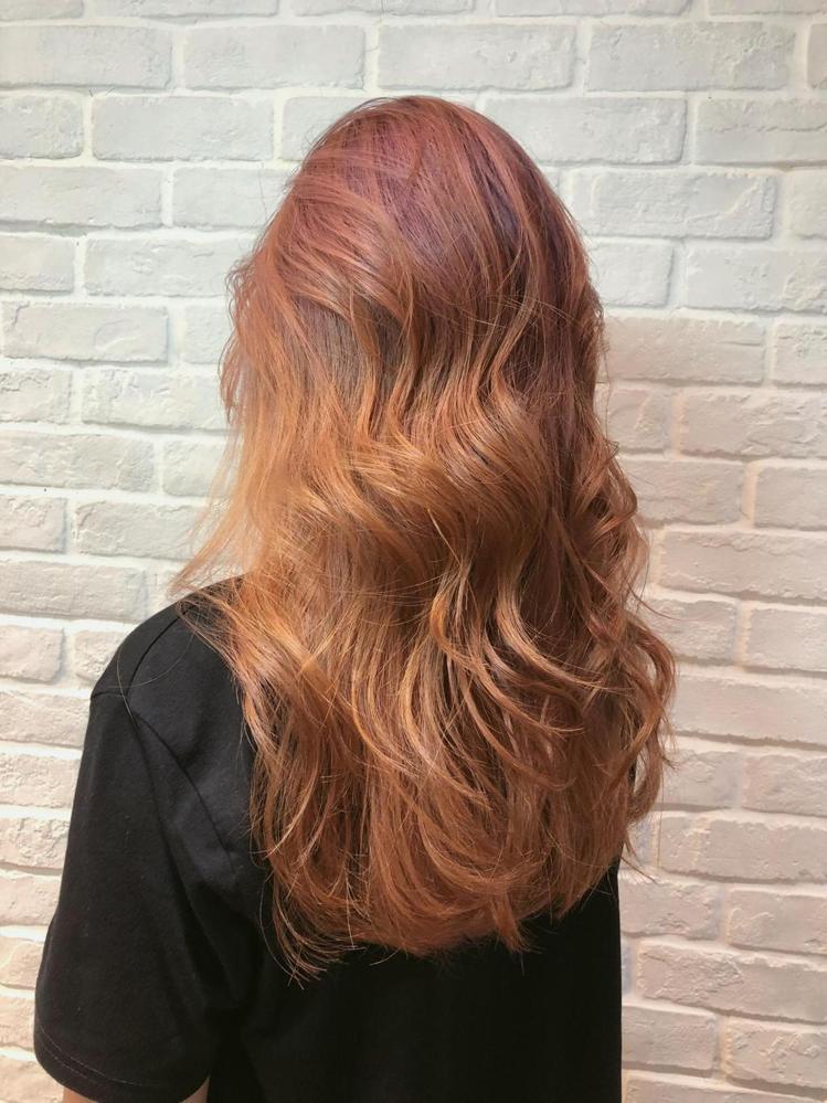 髮型創作/Amber安柏。圖/StyleMap提供