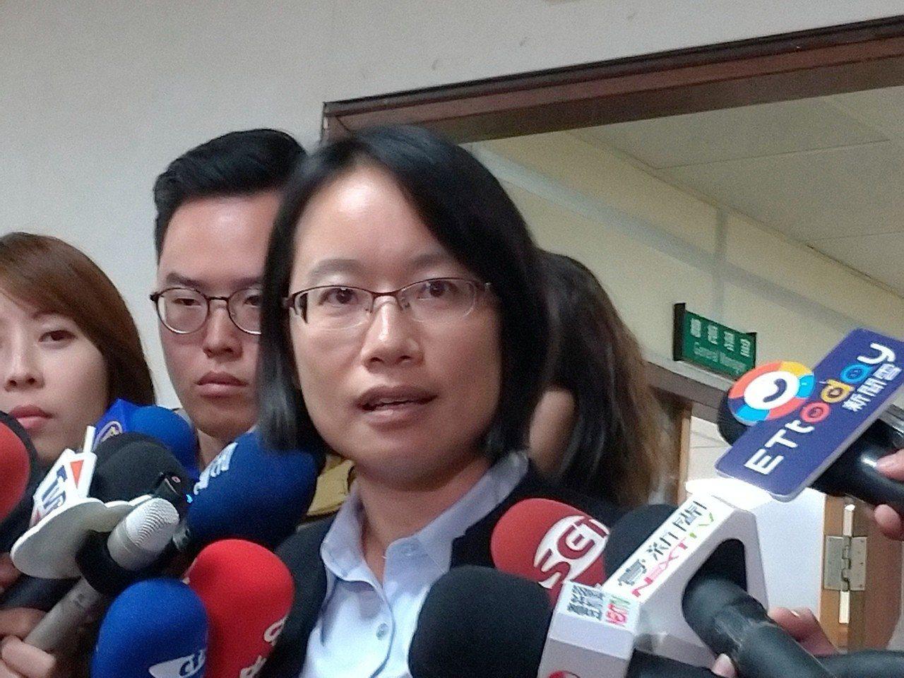 北農總經理吳音寧今早出面表示,自己的去留由董事會決定。記者莊琇閔/攝影