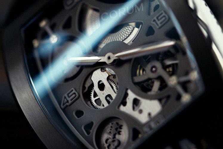 崑崙表經典系列Lab實驗腕表機芯照酒桶形表殼特地打造,48萬9,000元,限量9...