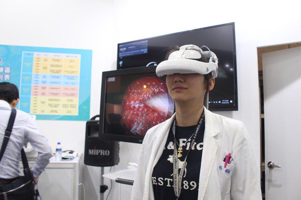「虛擬實境導航神經手術」更榮獲今年度國家新創獎,當醫師執行複雜的腦部手術過程,戴...