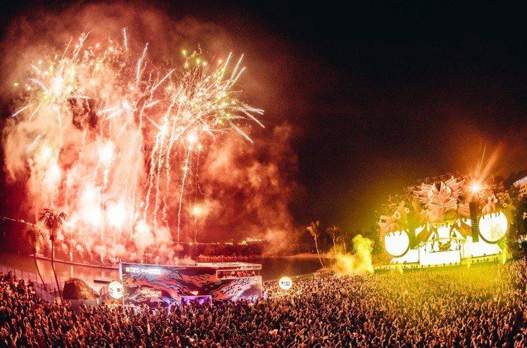 Zoukout為全亞洲最大的沙灘電音派對,將於12月1日登場。圖/新加坡旅遊局提...