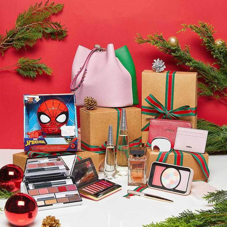 耶誕交換禮物就是要與眾不同,免稅獨賣商品可以讓禮物更搶眼。圖/昇恆昌免稅預購網提...