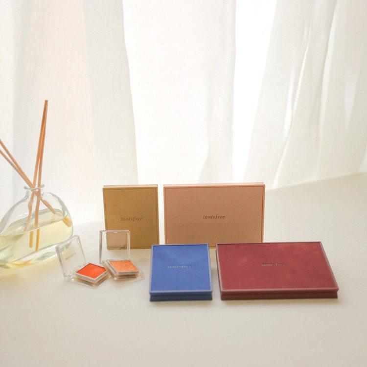 innisfree將於12月推出My palette我的彩妝盤麂皮限定版,共4色...