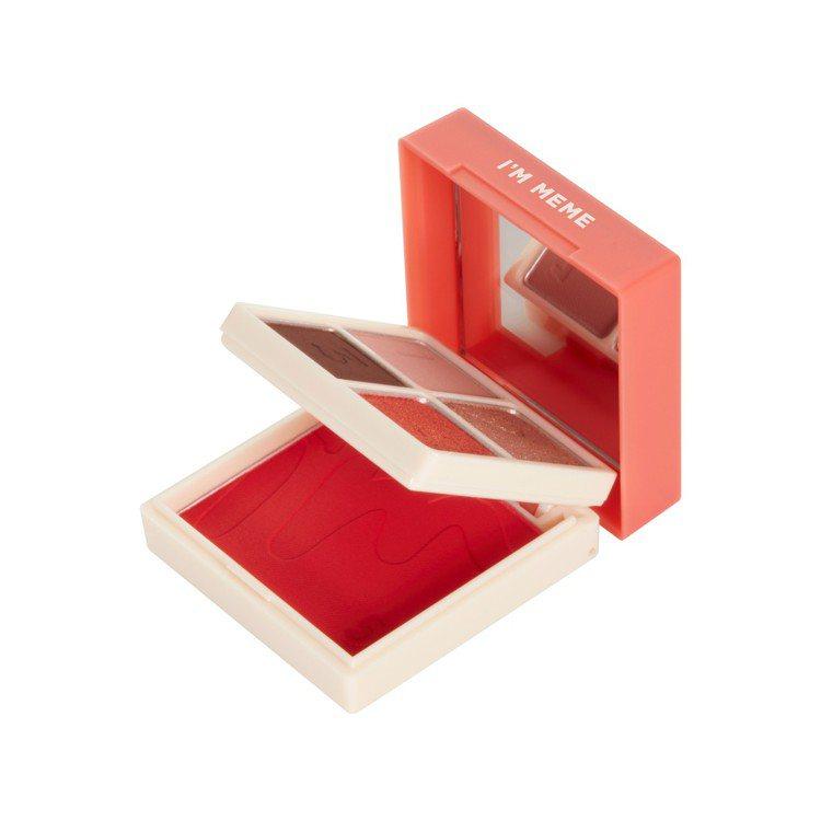 I'M MEME我愛睡過頭魔術彩妝盒,售價550元,共4色。圖/I'M MEME...