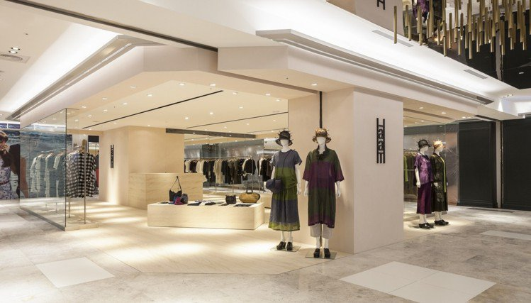 HaaT獨立店是南台灣唯一一家。圖/三宅一生提供