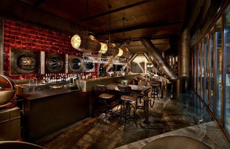 上海佘山世茂洲際酒店的餐廳設計相當有風格。圖/業者提供